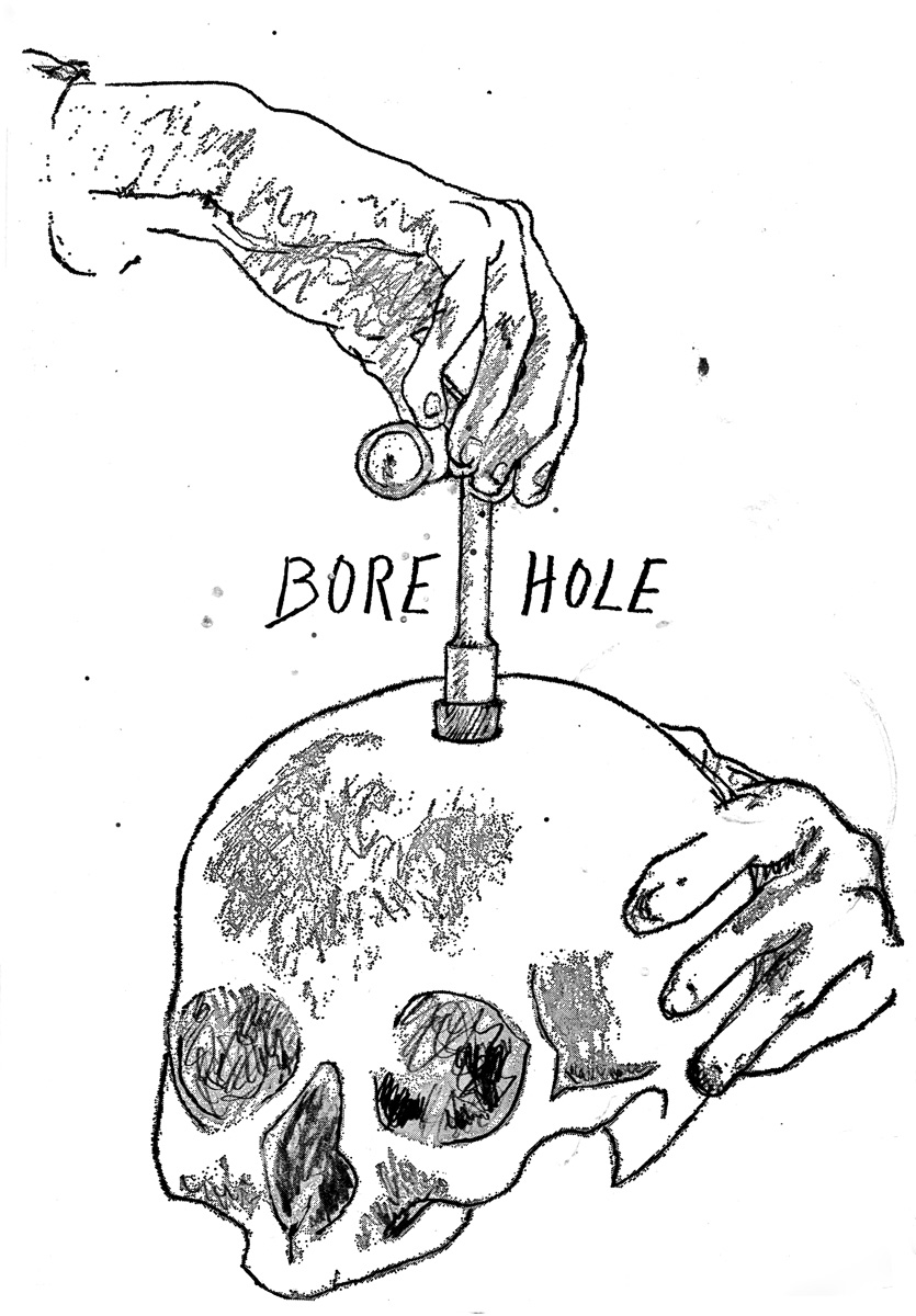 Bore Hole Strange Attractor