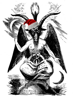 A depiction of Baphomet by Eliphas Levi, Transcendental Magic